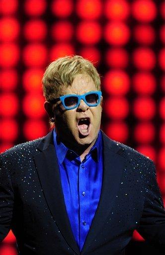 Elton John in concert at the Teatro Real, Madrid, Spain – 20 Jul 2015